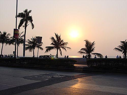 Sunset / Marine Drive, Mumbai