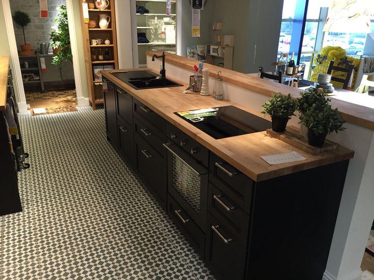 17 best cuisine maison images on Pinterest Kitchen ideas, Black - parquet flottant pour cuisine