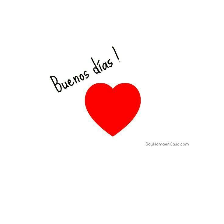 Buenos días Amor!!