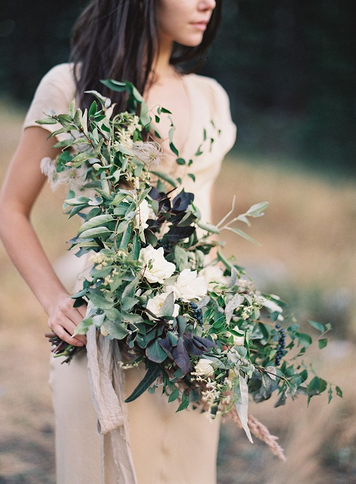 Organic Mountaintop Wedding Inspiration