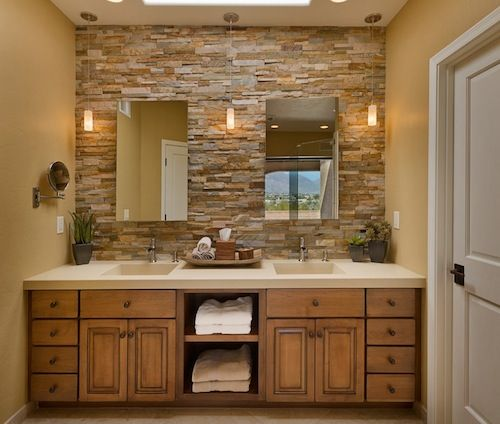 Accent Wall Bathroom: 17 Best Ideas About Bathroom Accent Wall On Pinterest