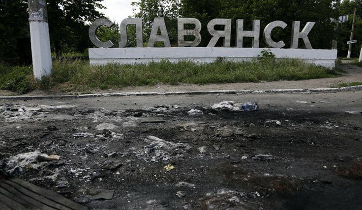 Second battalion of Ukraine's National Guards takes up duty in Slavyansk