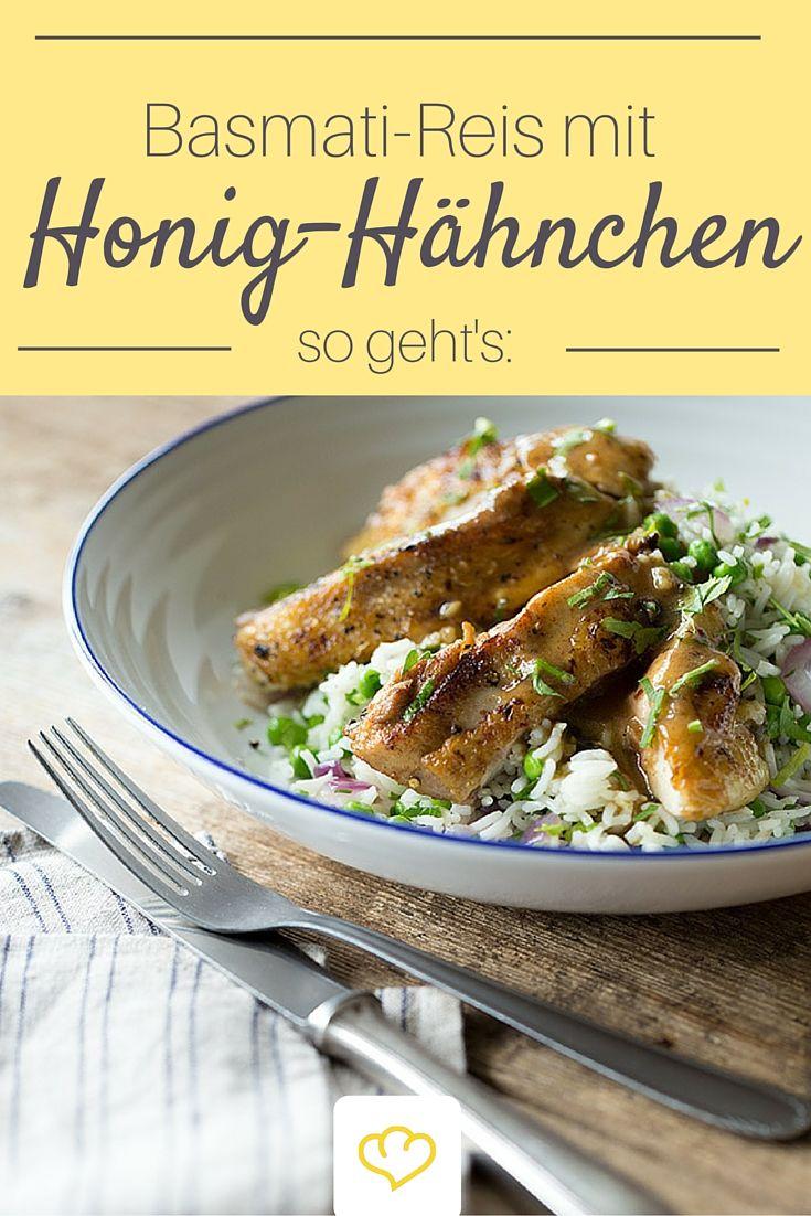 Die Hähnchenschenkel schmecken dank Honig-Marinade extra saftig!