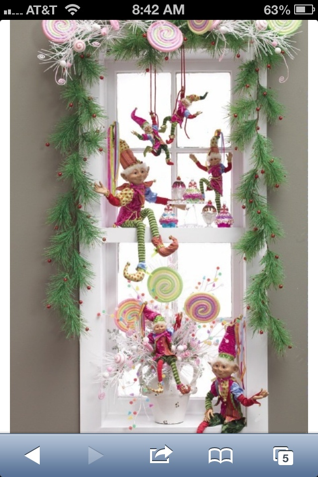 15 best decorating with mark roberts fairies and elves for you can find these elves and candy decorations at the corman marketplace too as the card rack turns 12 easy diy christmas decorating ideas solutioingenieria Gallery