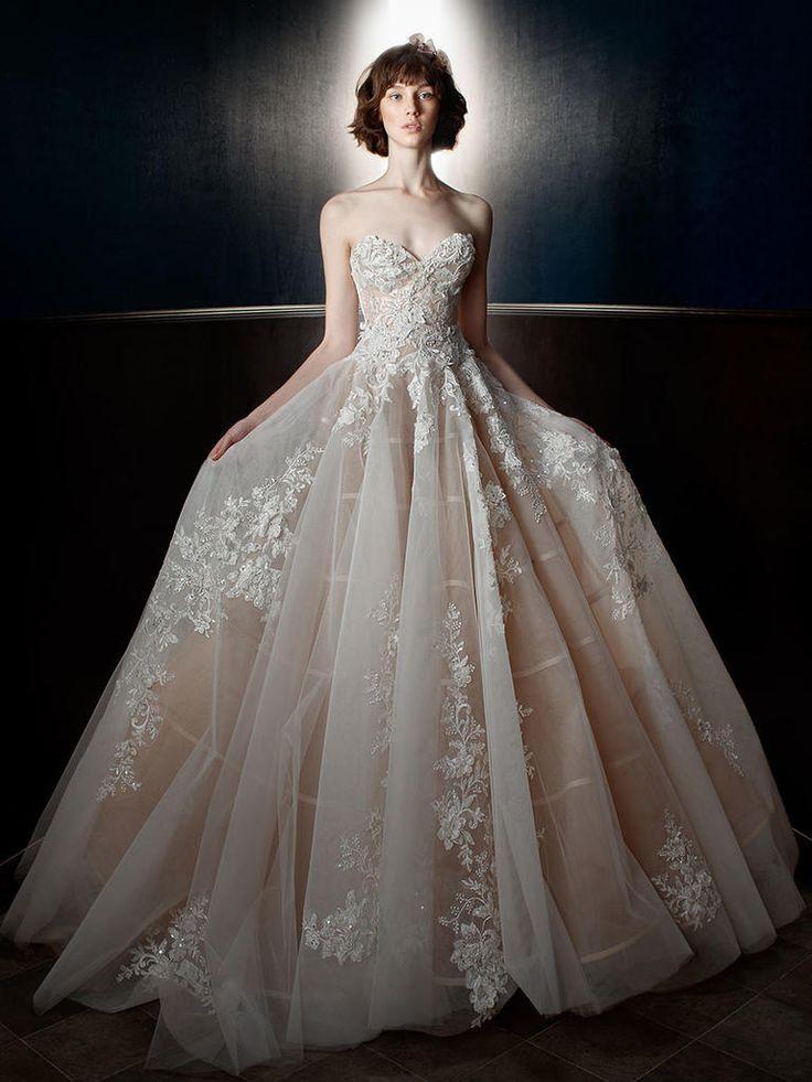 Two-Piece Princess Wedding Dress | 'Alma' by Galia Lahav Spring/Summer 2018