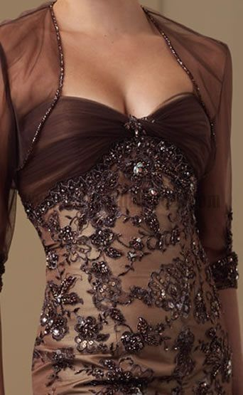 Chocolate Themed Wedding Brown Wedding Dress - Stay At Home Mum
