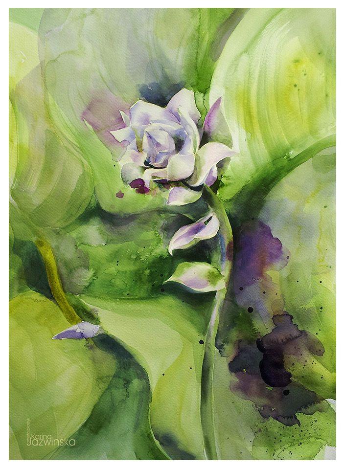 Karina Jaźwińska/ Flower/ A3
