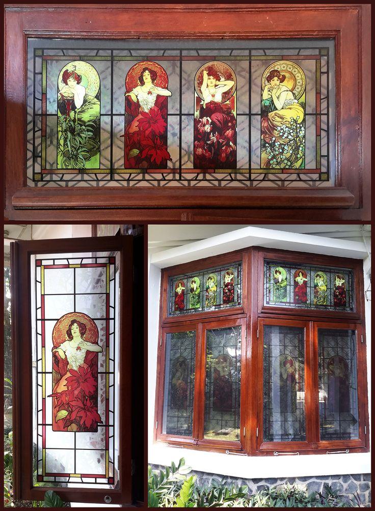 home window decor (print on glass)