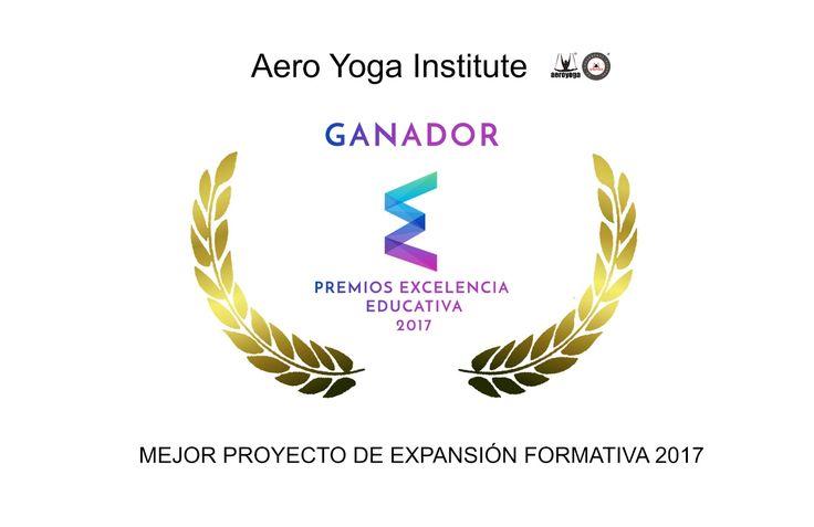 AeroYoga® Institute ha sido galardonado con dos de los premios Excelencia Educativa. mejor proyecto de expansión formativa #AEROYOGA #AEROPILATES #WELOVEFLYING! #escola #girona, #tarragona #monitors #aeri #classes #yogaaereo #formacion #cursos #barcelona #catalunya #body  #yogacreativo #aerialyoga #aerialpilates #cursosyoga #cursospilates #aeropilatescursos #fly #flying #pilatesaereocursos #aeroyogachile #aeroyogastudio #aeroyogabarcelona #aeroyogaespaña #wellness #bienestar…