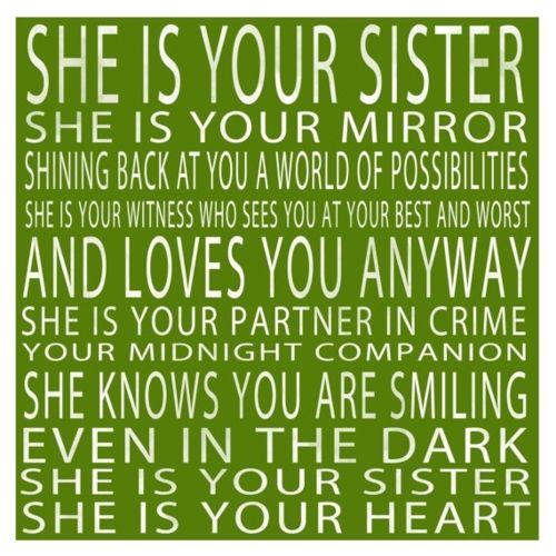 sisters....I miss mine! :'-(