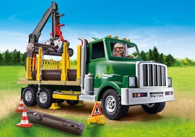 Camion de bois de Playmobil