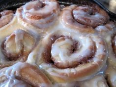 Bisquick Cinnamon Rolls-The way my momma used to make them!