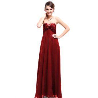 Ever Pretty Sweetheart Neckline Rhinestones Crystal Beads Prom Dress 09568,