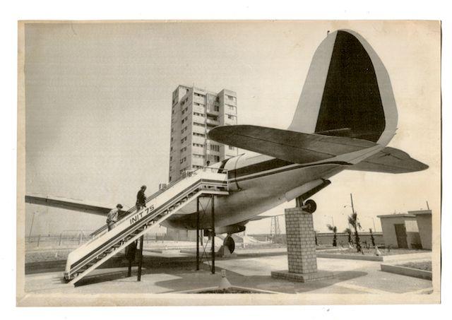 Club nocturno El Avioncito, en el Vedado, Ciudad de la Habana. Creado en 1975.