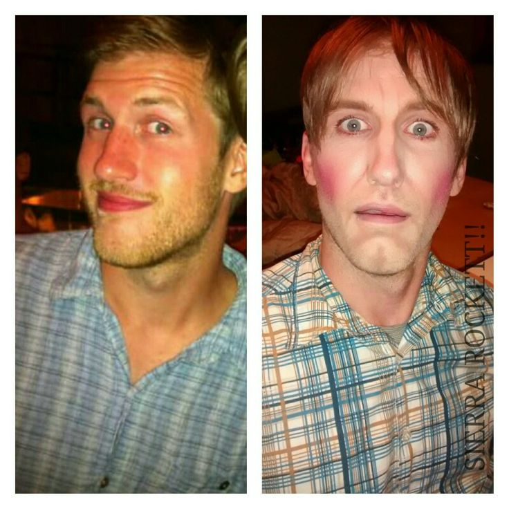 Stuart mad tv makeup on marshall miller for halloween. Makeup done by sierra rockett #sierrarockett #madtv #halloweenmakeup