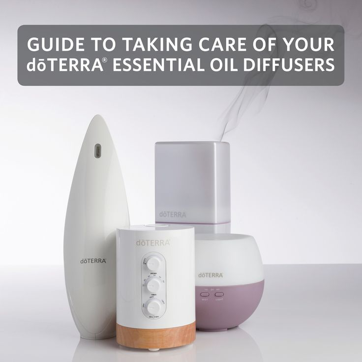 Over time, your diffuser will develop an oil buildup that potentially can prevent it from working properly, so it is important to understand how to use and take care of it.