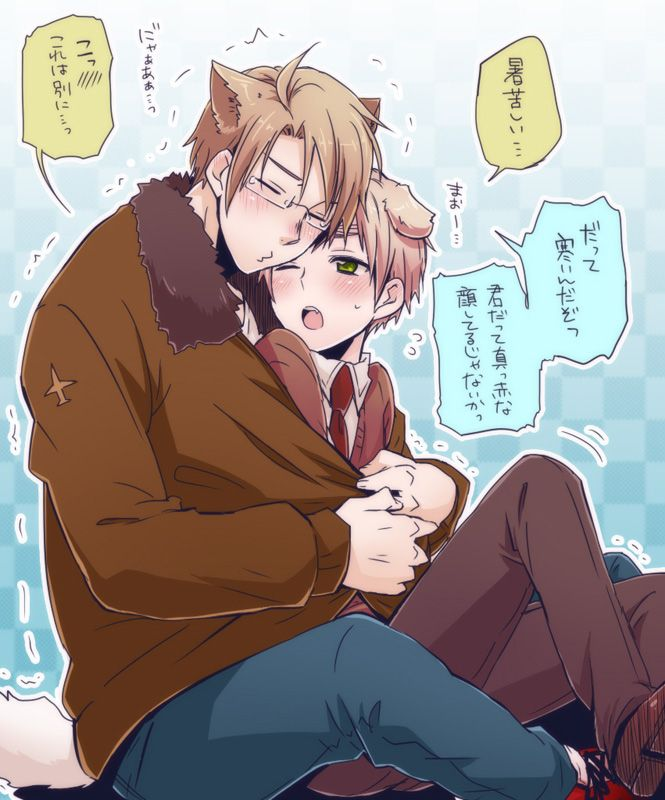 America x England - Hetalia | Don't ship it but this picture is cute