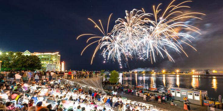 2016 Fireworks Schedule