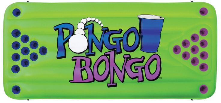 Airhead Pongo Bongo Beer Pong Table 2 Balls - Beverage pong is a very popular game these days. There's no better place to play on a hot day than in the water! PONGO BONGO is a floating inflatable game table equipped with 12 cup holders on each side. Kids love carnival games and will play PONGO BONGO for hours. Durable heavy gauge vinyl construction. Hang it from a ceiling in your game room or tether it to a moored boat or dock with the 4 molded rope holders welded to the sides. When you're…