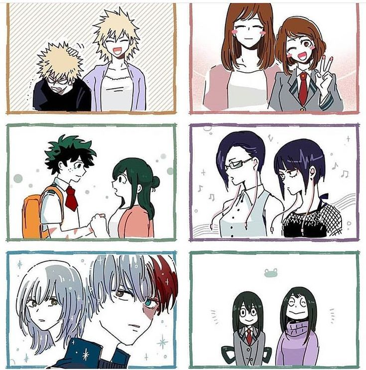 "Anime_Memes di Instagram ""Whos your fav bnha mom"