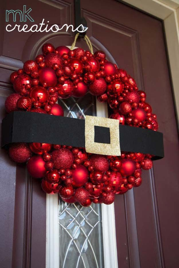 Best 25 homemade christmas wreaths ideas on pinterest for Home madechristmas decorations