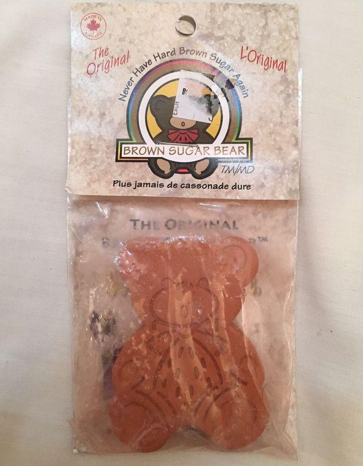 Brown Sugar Bear Original Brown Sugar Saver and Softener Terracotta  | eBay