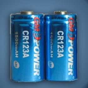 CR123A 1500mAh  http://batteryfromchina.com/products/67.html