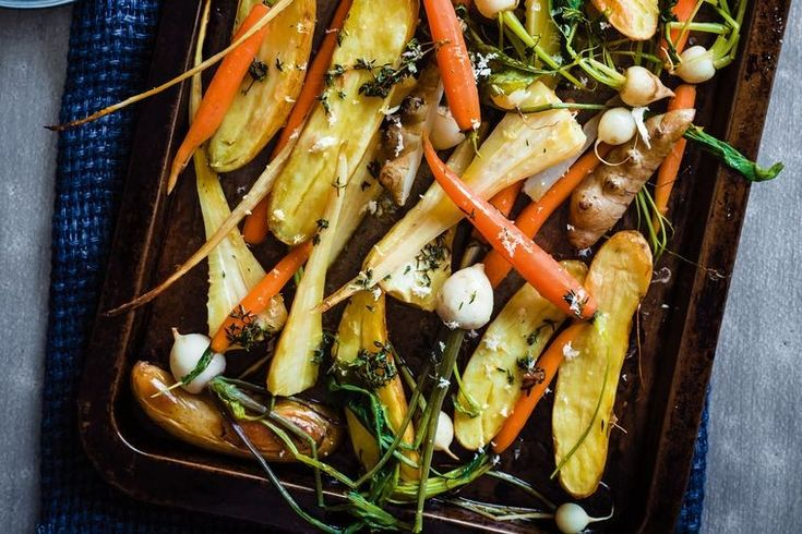 Serve Sunday roast with some show-stopping sides. Valli Little shares her fail-safe roast root veggie recipe.