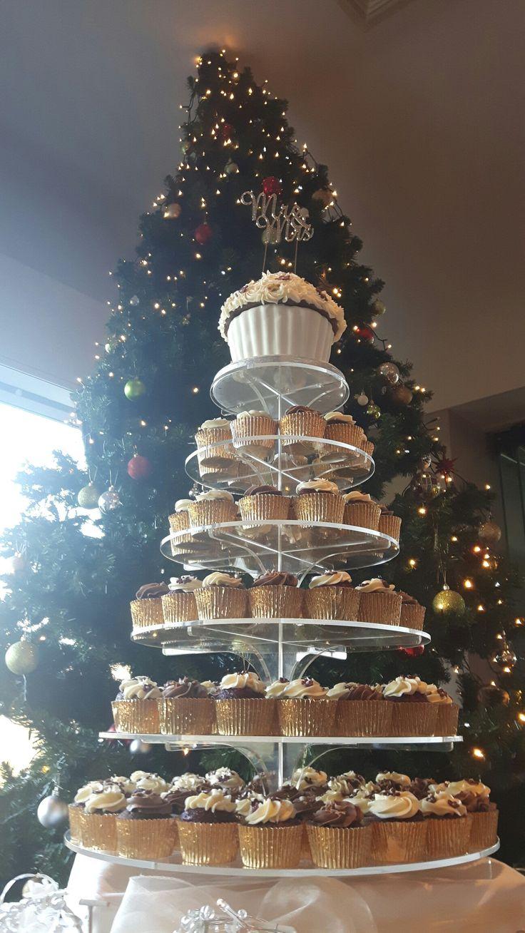Cupcake tower at @CastleDargan