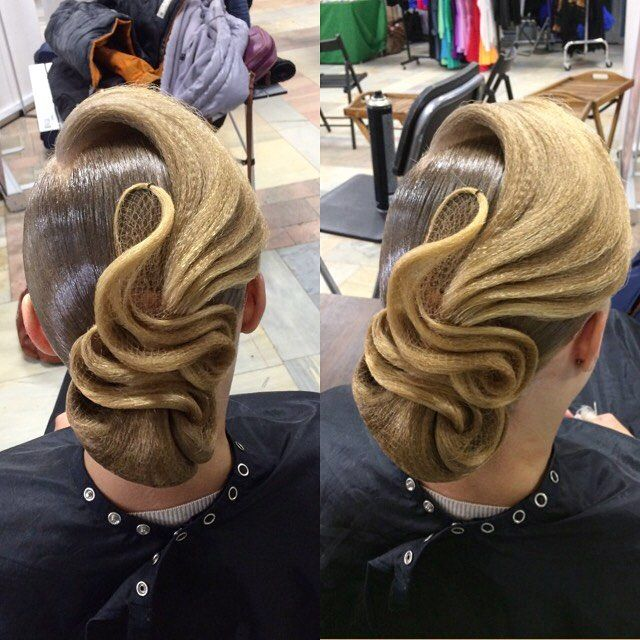Hairstayle for the ballroom dance✨ @artecreo #artecreo #hairstyle  #dance #ballroomdance #прическа # - margarita_profmuah