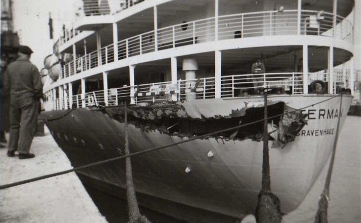 March 13, 1957 my family boarded the S.S. Waterman in Rotterdam, Holland. On March 14th an italian freight ship collided with their ship. In Brest, France, they boarded  the S.S. Zuiderkruis. They were at sea a couple of weeks and ported in NYC.