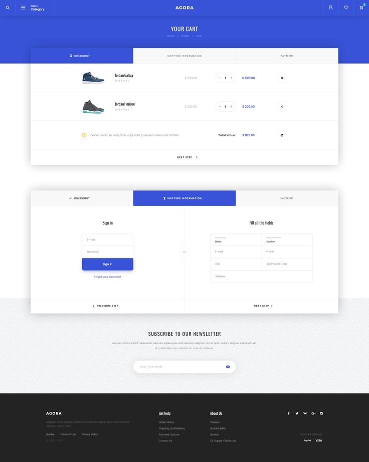 Buy Agora – eCommerce PSD Template by Svetlov on ThemeForest. Agora – a modern, bright and memorable eCommerce template.Users will love Your site because it gives them a uni...