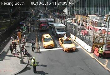 Webcam Rue Church @ Rue Vesey - Caméra de circulation en temps réel située au...