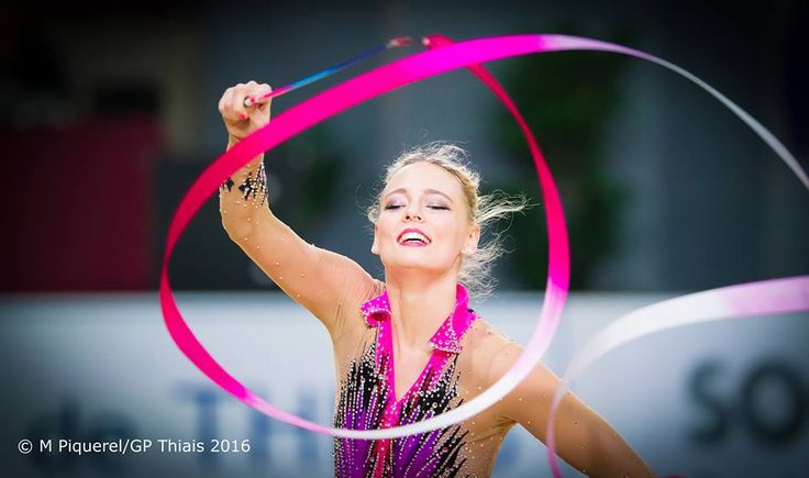 Nicol Ruprecht (Austria) got 17.033 points for ribbon at Qualifications Olympic…