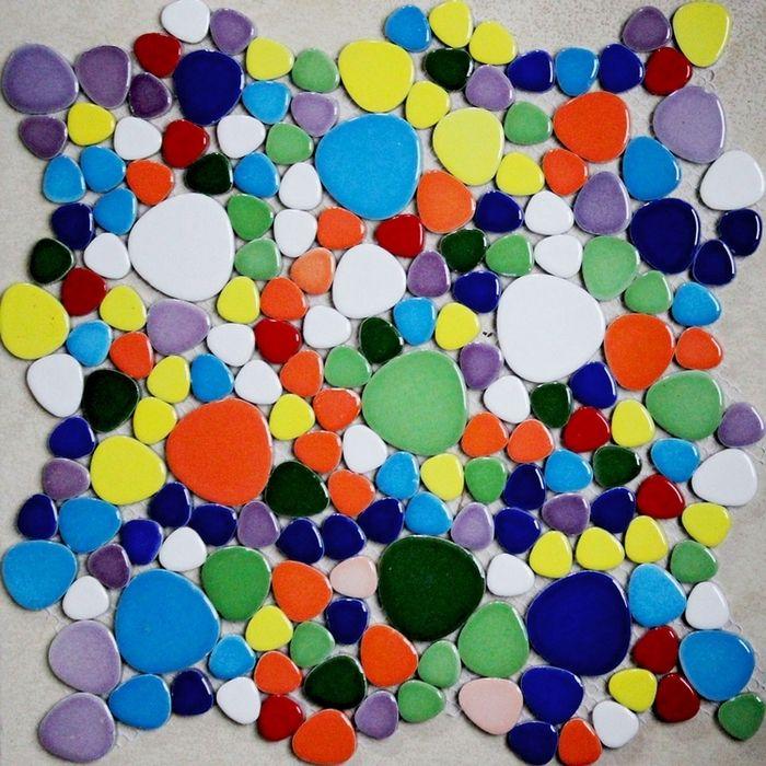 25 best ideas about ba os de azulejos de color marr n en - Azulejos de colores ...