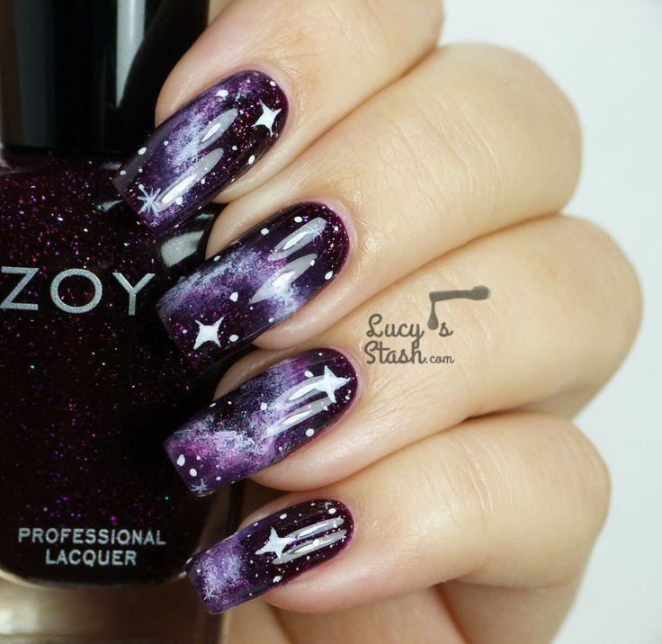 143 best Galaxy Nail Art And Similar Multicolored Nail Designs ...