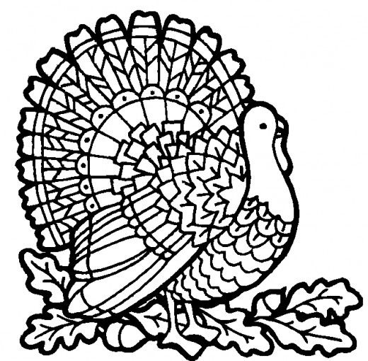 Handturkeycoloringpage Hand Turkey Showdown Coloring Page
