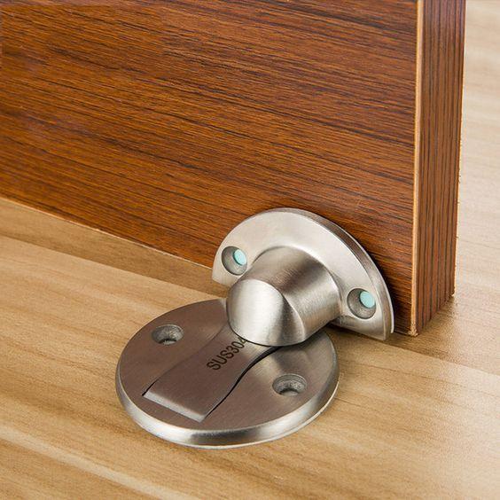 Online Shop Magnet Door Stops Sticker Stainless Steel Door Stopper