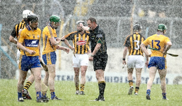 Winter hurling