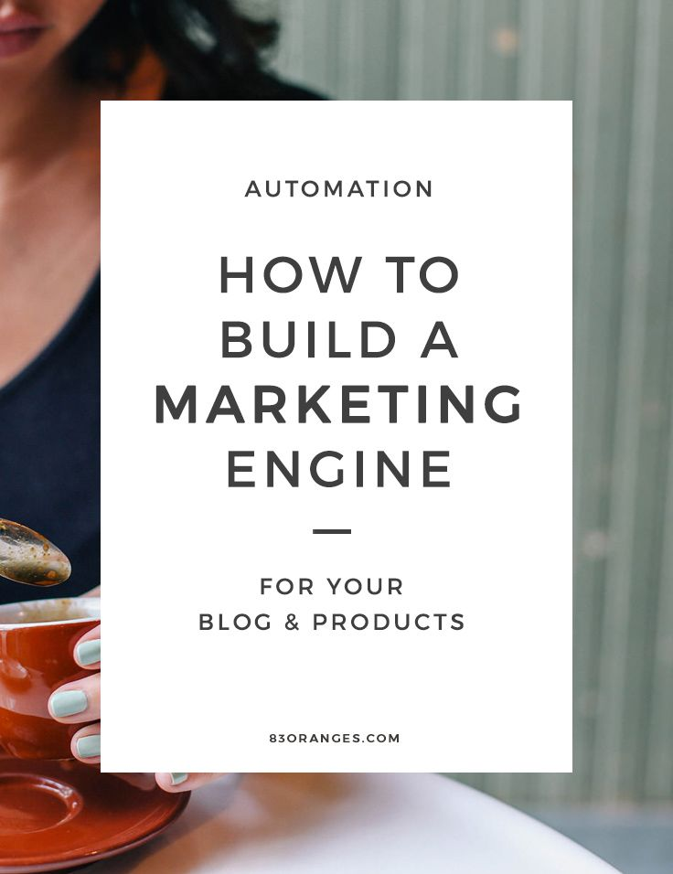 How to build a marketing engine for your blog & products - simple steps that any blogging newbie can follow!