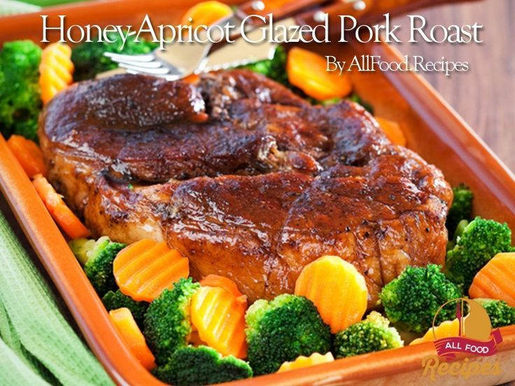 Honey-Apricot Glazed Pork Roast