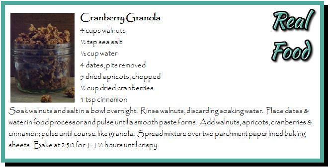 Cranberry Granola