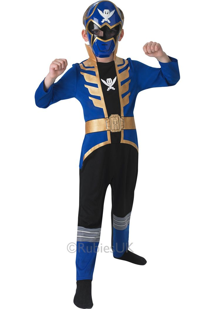 Blue Super Megaforce Power Rangers Costume for Children - General Kids Costumes at Escapade™ UK - Escapade Fancy Dress on Twitter: @Escapade_UK