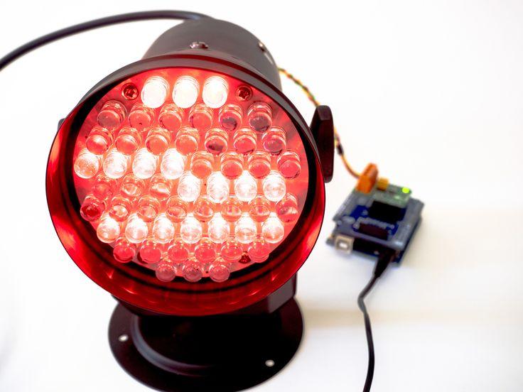 Arduino DMX master using RS485 click board
