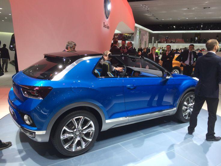 """VW T-Roc konceptbil. Den ser ikke så tosset ud! Det lille SUV segment er det mest """"hotte"""" i Europa i øjeblikket."""