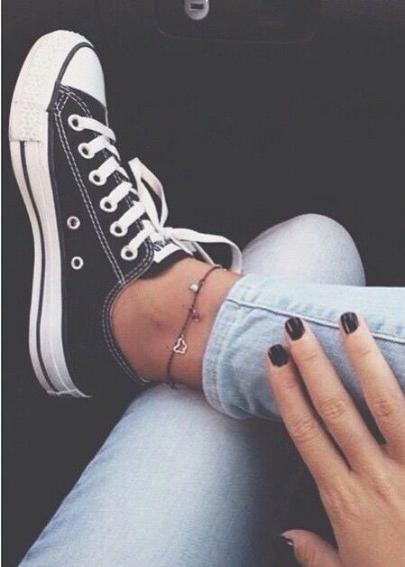 Converse-like sneakers. Please keep the black portion of the sneaker on a separate layer.