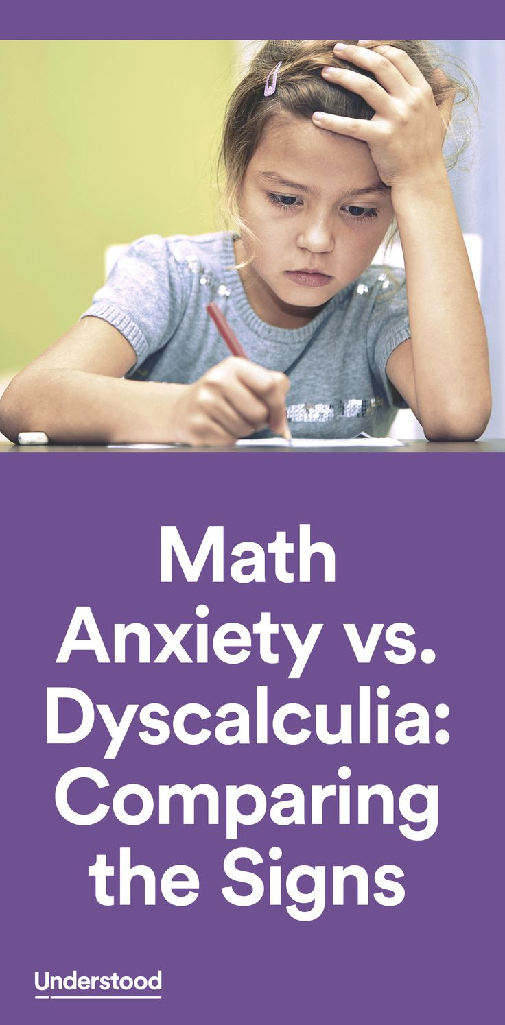 Knowing what's behind your child's difficulty with math lets you respond in the best way.