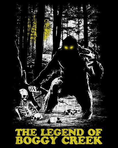 The Legend of Boggy Creek | My Fright-Rags | Pinterest ...