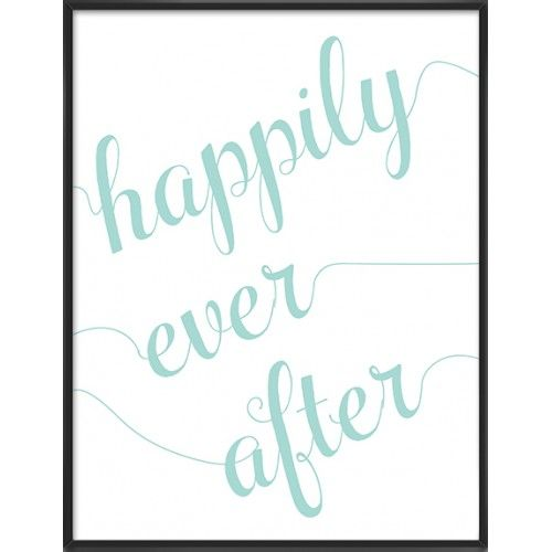 Happily ever after art print- 50