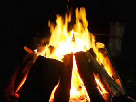 Campfire Video with Relaxing Night Sounds - YouTube